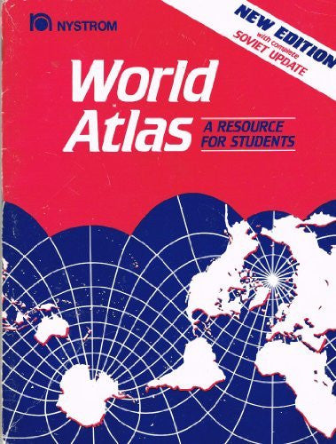 us topo - World Atlas: A Resource for Students - Wide World Maps & MORE! - Book - Brand: Nystrom - Wide World Maps & MORE!