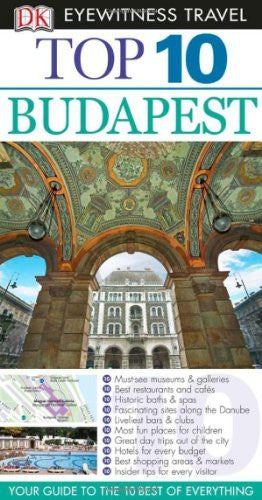 us topo - Top 10 Budapest (Eyewitness Top 10 Travel Guides) - Wide World Maps & MORE! - Book - Brand: DK Travel - Wide World Maps & MORE!