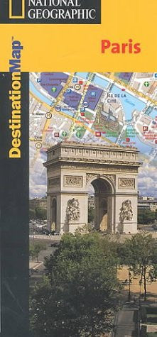 National Geographic Destination Map Paris