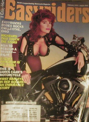 us topo - Easyriders Easy Riders Magazine February 1993 (Single Back Issue) - Wide World Maps & MORE! - Book - Wide World Maps & MORE! - Wide World Maps & MORE!
