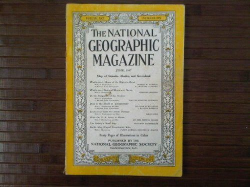 National Geographic Magazine, June 1947 (Vol. 91, No. 6) - Wide World Maps & MORE! - Book - Wide World Maps & MORE! - Wide World Maps & MORE!