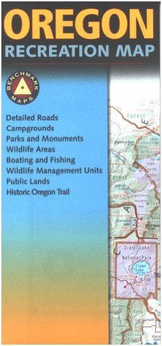 us topo - Map: Oregon Recreation - Wide World Maps & MORE! - Book - Wide World Maps & MORE! - Wide World Maps & MORE!