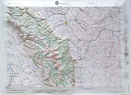 us topo - Sheridan, Wyoming - Wide World Maps & MORE! - Book - Wide World Maps & MORE! - Wide World Maps & MORE!