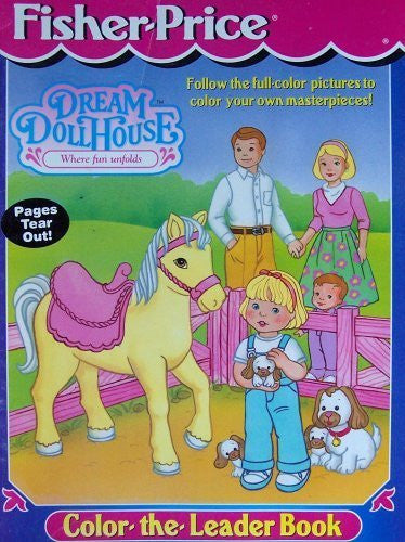 us topo - Dream House ~ Where Fun Unfolds (Color the Leader Book) - Wide World Maps & MORE! - Toy - Fisher-Price - Wide World Maps & MORE!