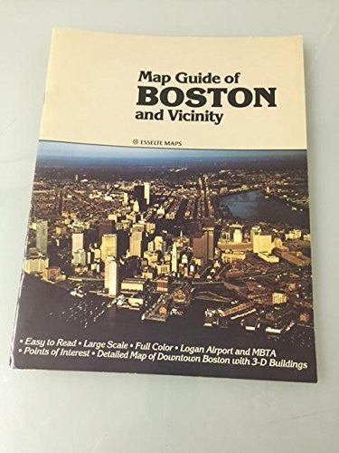 Map Guide of Boston and Vicinity