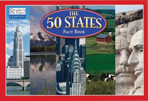 The 50 States Book and Magnetic Puzzle Map - Wide World Maps & MORE! - Book - Reader's Digest - Wide World Maps & MORE!