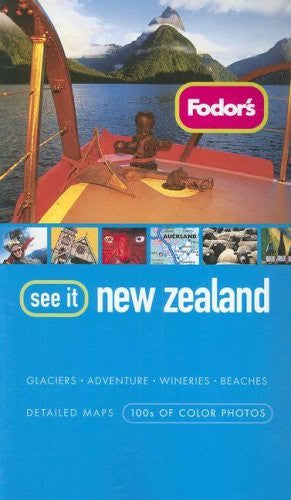 us topo - Fodor's See It New Zealand, 2nd Edition - Wide World Maps & MORE! - Book - Brand: Fodor's - Wide World Maps & MORE!