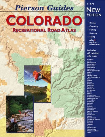 us topo - Pierson Guides Colorado: Recreational Road Atlas - Wide World Maps & MORE! - Book - Brand: Pierson Graphics - Wide World Maps & MORE!