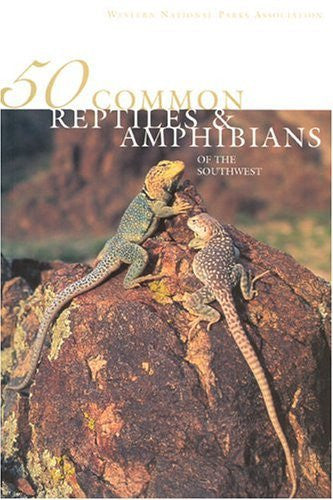 us topo - 50 Common Reptiles & Amphibians of the Southwest - Wide World Maps & MORE! - Book - Brand: SouthWest Parks Monuments ASsociation - Wide World Maps & MORE!