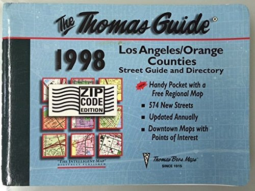 Los Angeles/Orange counties street guide and directory