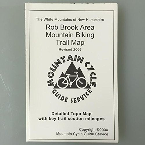 Rob Brook Area Mountain Biking Trail Map