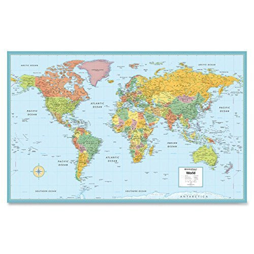 us topo - Rand McNally M-Series Deluxe Wall Maps - Wide World Maps & MORE! - Book - Rand McNally - Wide World Maps & MORE!