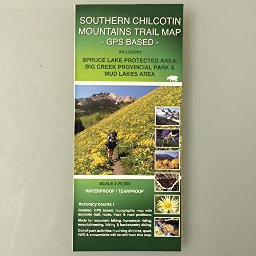 Southern Chilcotin Mountains Trail Map