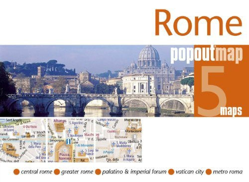 us topo - Rome popoutmap (PopOut Maps) - Wide World Maps & MORE! - Book - Wide World Maps & MORE! - Wide World Maps & MORE!
