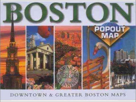 us topo - Boston Popout Map - Wide World Maps & MORE! - Book - Wide World Maps & MORE! - Wide World Maps & MORE!