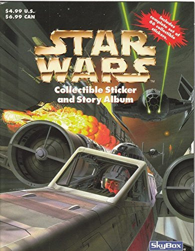 Star Wars: Collectible Sticker and Story Album