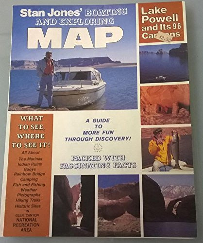 us topo - By Stan Jones Lake Powell and Its 96 Canyons Boating and Exploring Map [Map] - Wide World Maps & MORE! - Book - Wide World Maps & MORE! - Wide World Maps & MORE!