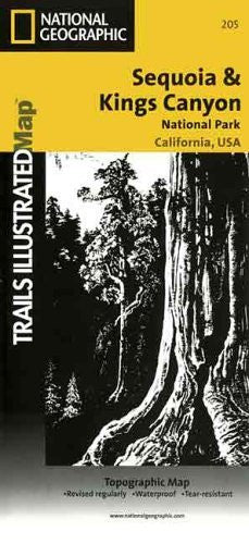 Trails Illustrated National Parks Sequoia & Kings Canyon (Trails Illustrated - Topo Maps USA)