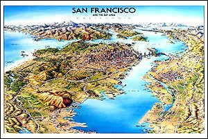 Unique Media Map: San Francisco/Folded
