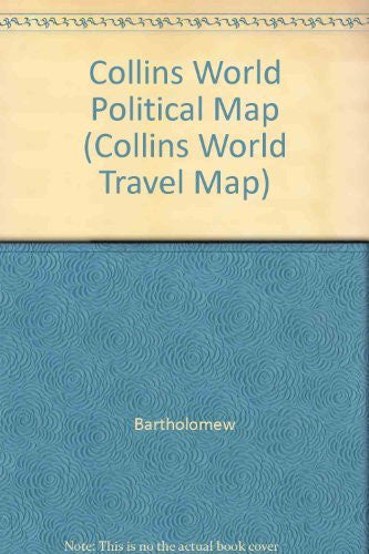 Collins World Political Map (Collins World Travel Map) - Wide World Maps & MORE! - Map - Collins - Wide World Maps & MORE!