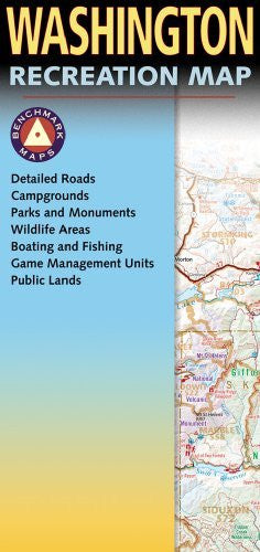 us topo - Washington Recreation Map (Benchmark Maps) - Wide World Maps & MORE! - Book - Benchmark Maps - Wide World Maps & MORE!