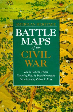 us topo - Battle Maps of the Civil War (American Heritage) - Wide World Maps & MORE! - Book - Brand: Smithmark Pub - Wide World Maps & MORE!