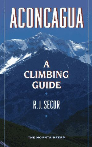 us topo - Aconcagua: A Climbing Guide - Wide World Maps & MORE! - Book - Brand: Mountaineers Books - Wide World Maps & MORE!