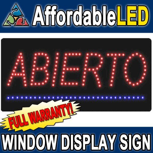 L7051 - Abierto LED Sign