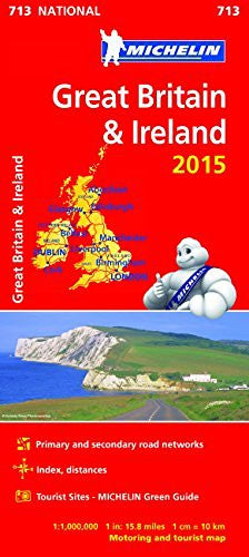 Great Britain and Ireland 2015 National Map 713