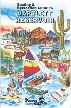 us topo - Boating & Recreation Guide to Bartlett Reservoir - Wide World Maps & MORE! - Book - Wide World Maps & MORE! - Wide World Maps & MORE!