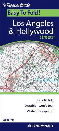 us topo - Los Angeles Hollywood (EasyFinder) - Wide World Maps & MORE! - Book - Rand McNally - Wide World Maps & MORE!