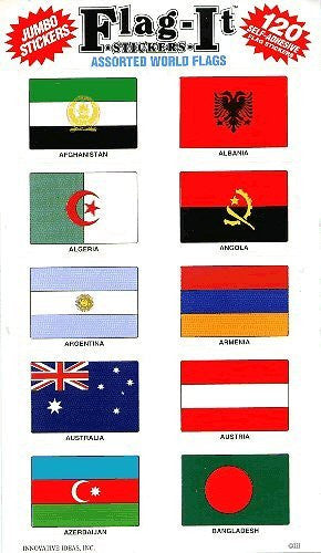 Assorted World Flags
