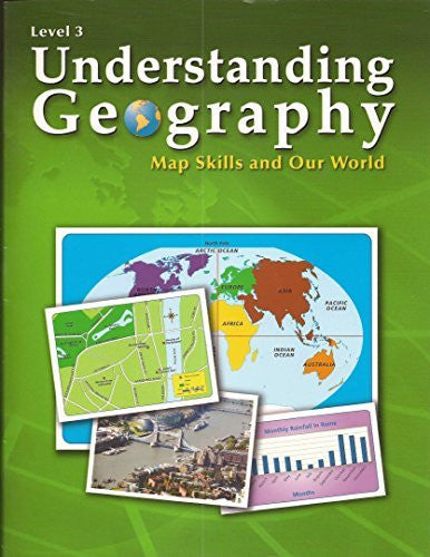 us topo - Understanding Geography: Map Skills and Our World, Level 3 - Wide World Maps & MORE! - Book - MAPS 290 - Wide World Maps & MORE!