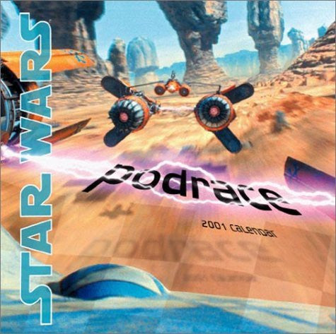 Star Wars Podrace 2001 Calendar