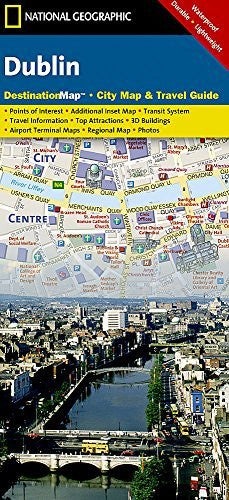 Dublin (National Geographic Destination City Map)