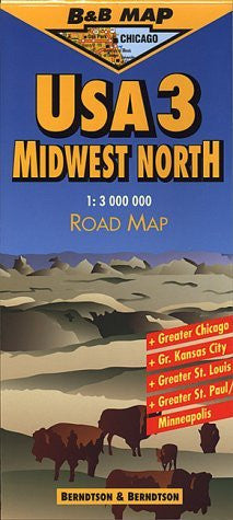 us topo - Midwest North USA - Wide World Maps & MORE! - Book - Wide World Maps & MORE! - Wide World Maps & MORE!
