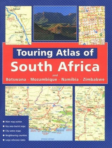 us topo - Touring Atlas of Southern Africa: and Botswana Mozambique, Namibia and Zimbabwe - Wide World Maps & MORE! - Book - Wide World Maps & MORE! - Wide World Maps & MORE!