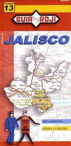 us topo - Jalisco State - Wide World Maps & MORE! - Book - Guia Roji - Wide World Maps & MORE!