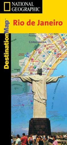 us topo - Rio de Janeiro Destination Map (National Geographic) - Wide World Maps & MORE! - Book - National Geographic - Wide World Maps & MORE!