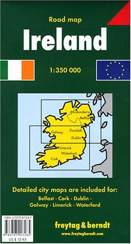 us topo - Ireland Road Map - Wide World Maps & MORE! - Book - Wide World Maps & MORE! - Wide World Maps & MORE!