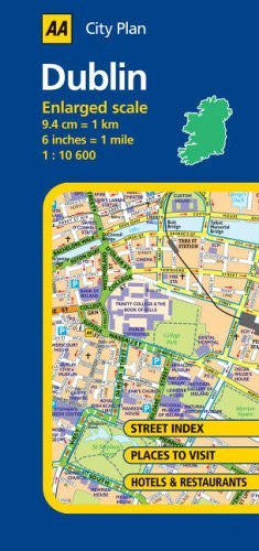 us topo - AA City Plan: Dublin - Wide World Maps & MORE! - Book - Wide World Maps & MORE! - Wide World Maps & MORE!
