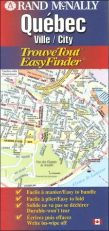 Rand McNally Quebec: Ville/City (EasyFinder)