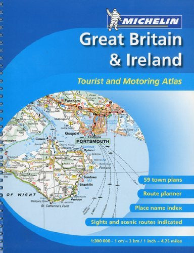 Great Britain/Ireland, Atlas Spiral (Atlas (Michelin))