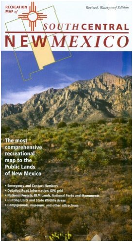 5-NM Recreation Map: Southcentral