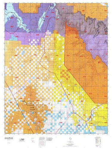 Arizona 15A Hunt Area / Game Management Unit (GMU) Map - Wide World Maps & MORE! - Map - MyTopo - Wide World Maps & MORE!