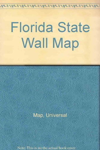 Florida State Wall Map