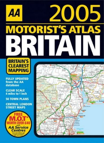 us topo - AA Motorist's Atlas Britain 2005 2005 - Wide World Maps & MORE! - Book - Wide World Maps & MORE! - Wide World Maps & MORE!