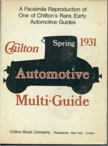 Automotive Multi-guide: Spring 1931