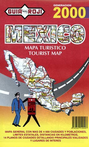 Mexico Tourist Map 1998 (Spanish Edition)