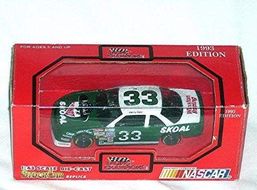 "us topo - 1993 Racing champions 1:43 Scale ""#33 Harry Gant"" Car - Wide World Maps & MORE! - Toy - Nascar - Wide World Maps & MORE!"